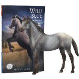 Breyer Wild Blue Classic Horse and Book Set