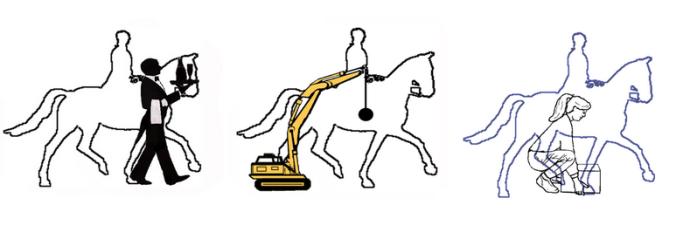 horse balance