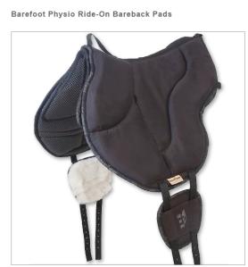 Barefeet Physio Bareback Pad